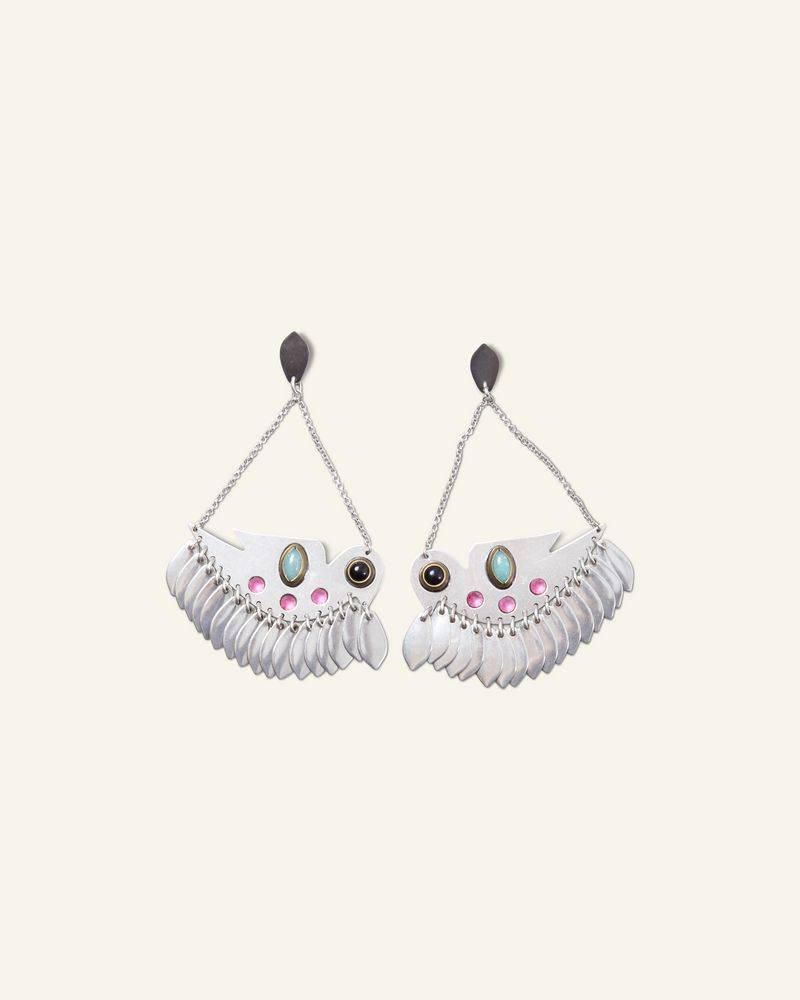 BIRDY STUDS EARRINGS ISABEL MARANT