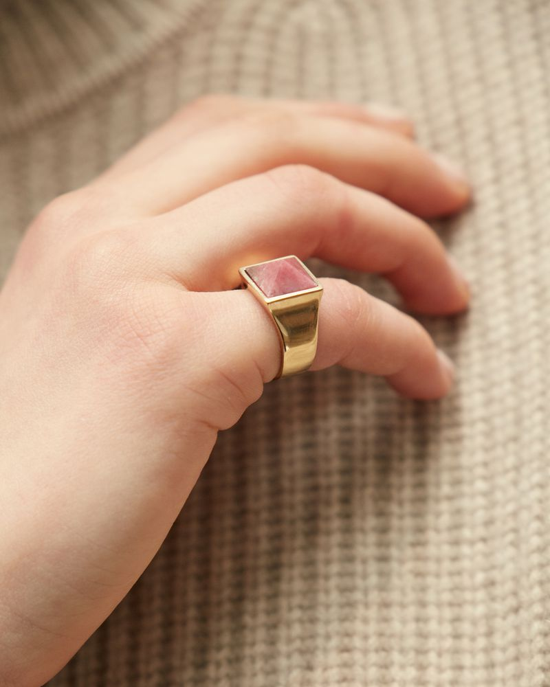 GOLDEN MOTHER RING ISABEL MARANT