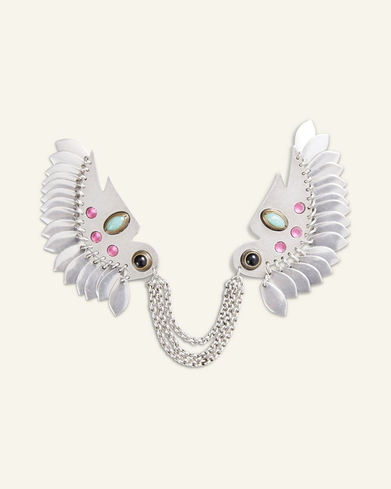 BROCHE BIRDY STUDS ISABEL MARANT