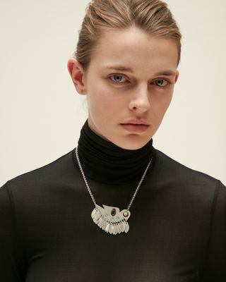 ISABEL MARANT NECKLACE Woman BIRDY STUDS NECKLACE d