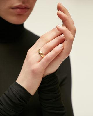 ISABEL MARANT RING Woman FATHER RING d