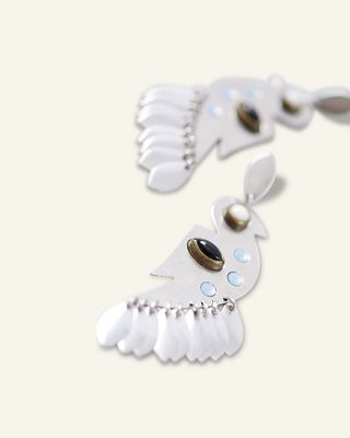 ISABEL MARANT EARRINGS Woman BIRDY STUDS EARRINGS d
