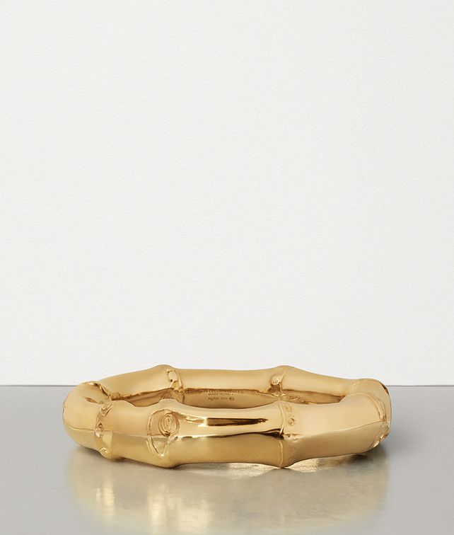BOTTEGA VENETA BRACELET IN GOLD-PLATED SILVER Bracelet Woman fp