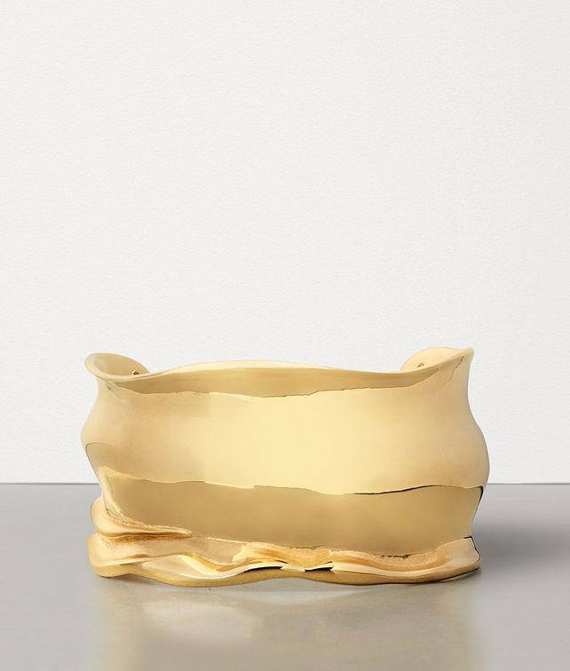 BOTTEGA VENETA BRACELET IN GOLD PLATED SILVER Bracelet Woman fp