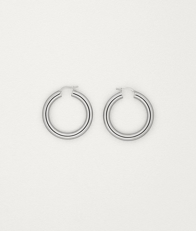 BOTTEGA VENETA EARRINGS IN STERLING SILVER Earrings Woman fp