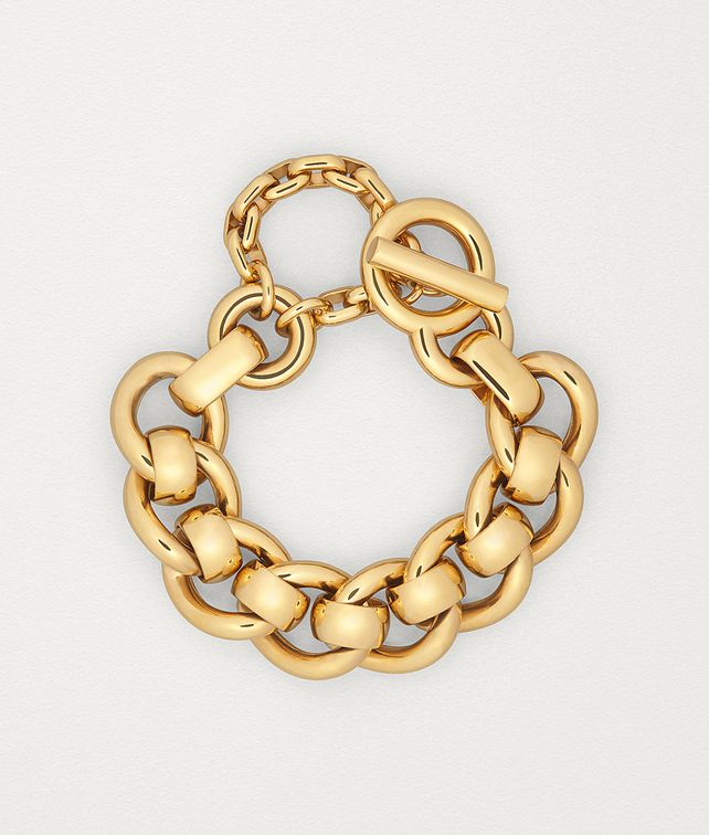 BOTTEGA VENETA BRACELET IN GOLD-PLATED SILVER Bracelet Woman fp