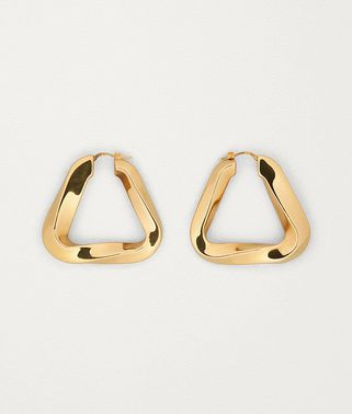 EARRINGS IN GOLD PLATED SILVER