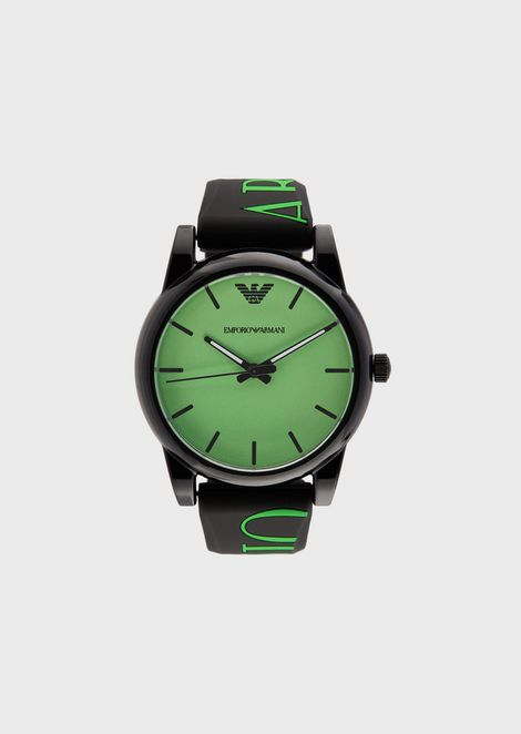 Logoed silicone watch