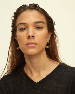 ISABEL MARANT EARRINGS Woman NEW LEAVES EARRINGS d