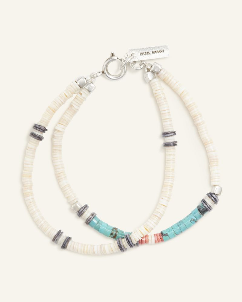 Bracelet double multicolore ISABEL MARANT