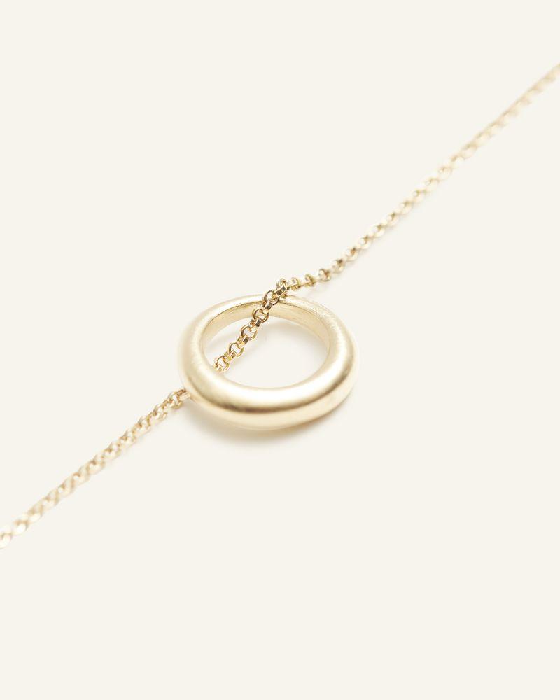 Collier dorée avec un anneau ISABEL MARANT