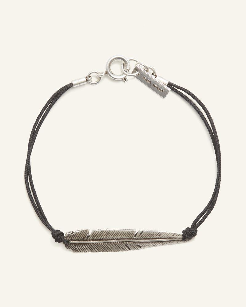 Bracelet avec plume argentée ISABEL MARANT