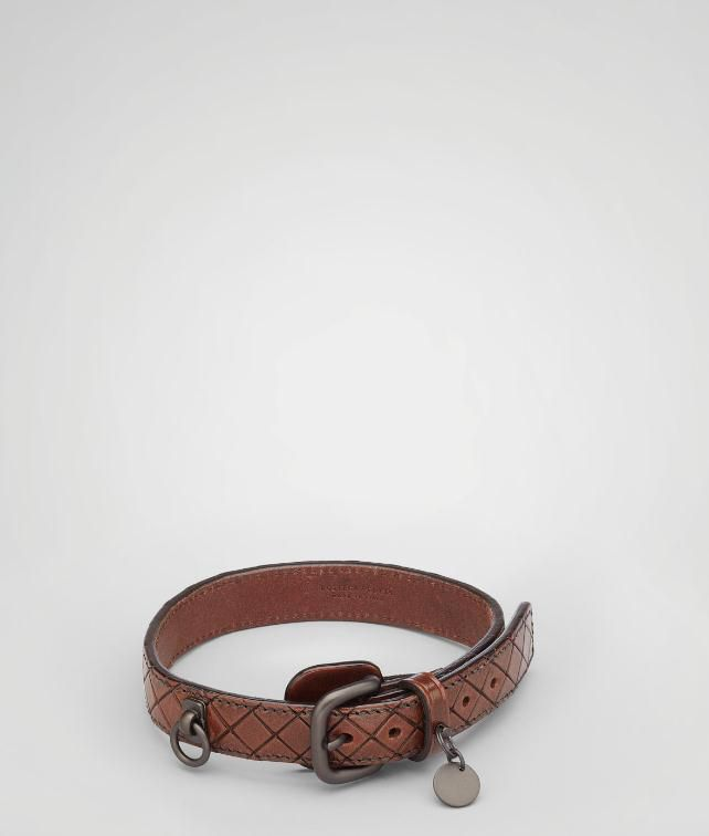 BOTTEGA VENETA Intreccio Scolpito Dog Collar Pet Accessory E fp