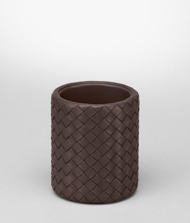 BOTTEGA VENETA Intrecciato Nappa Pencil Holder Desk accessory E fp