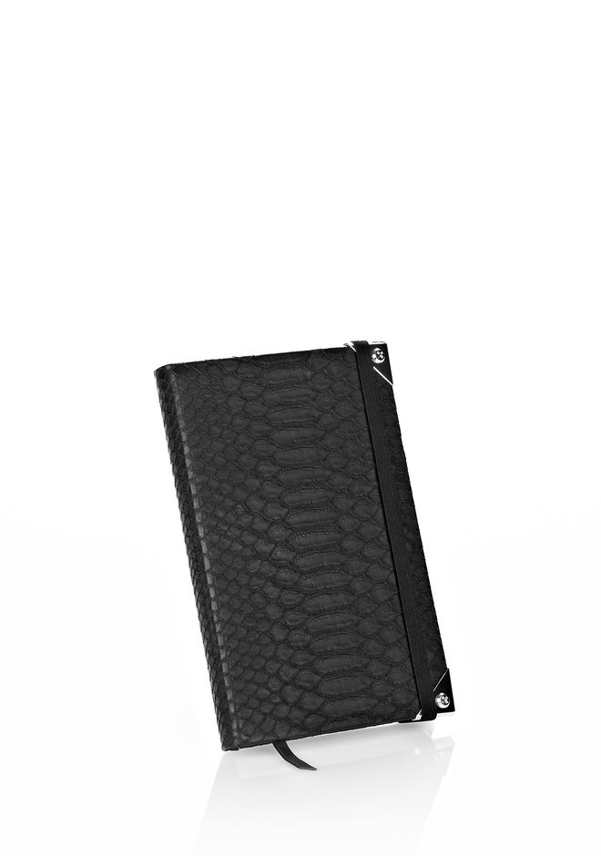 ALEXANDER WANG NOTEBOOK WITH RHODIUM HARDWARE NOTEBOOK Adult 12_n_f