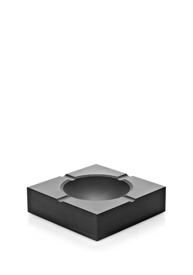 ALEXANDER WANG MATTE BLACK ASHTRAY ASHTRAY Adult 12_n_r