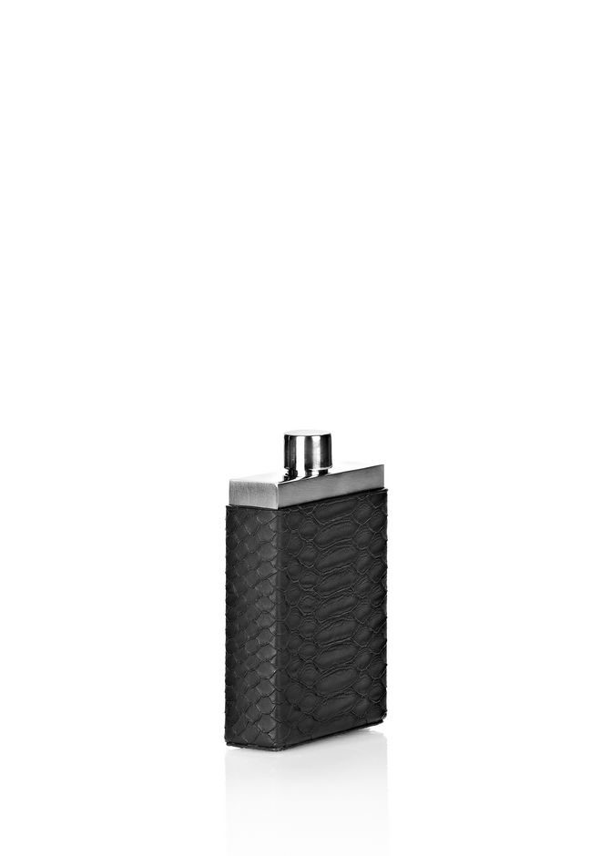ALEXANDER WANG FLASK WITH EMBOSSED CASE HIP FLASK Adult 12_n_r