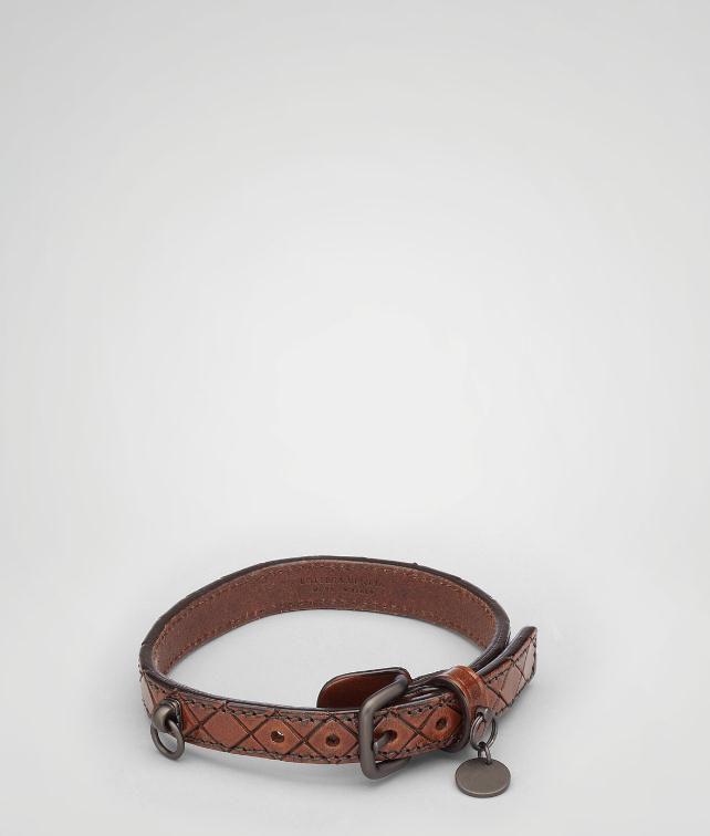 BOTTEGA VENETA Intreccio Scolpito Dog Collar Pet Accessory E fp