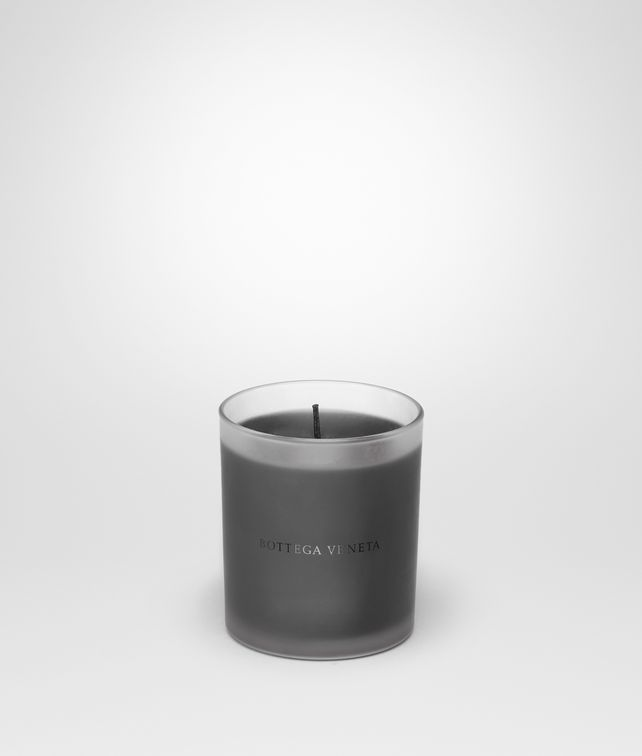 BOTTEGA VENETA Frosted Glass Boisé Candle Candle E fp