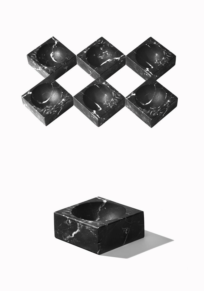 ALEXANDER WANG MARBLE JUNK BOWL ASHTRAY Adult 12_n_e