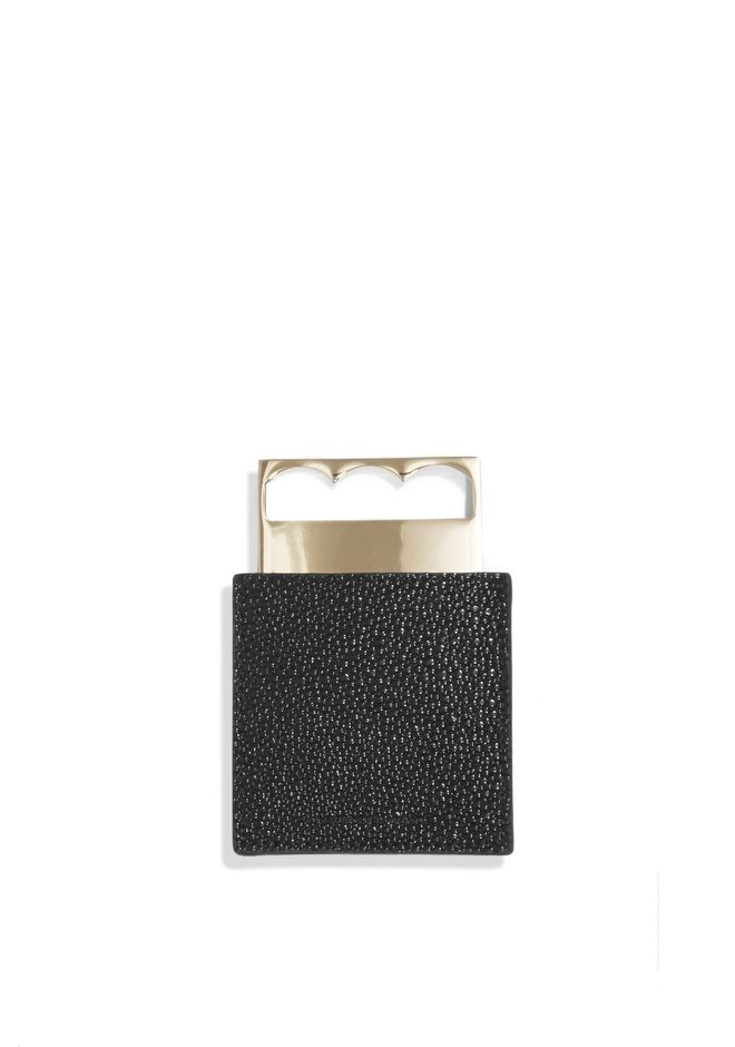 ALEXANDER WANG POCKET MIRROR WITH CASE MIRROR Adult 12_n_r