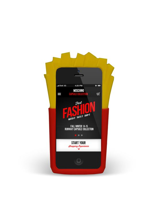 iPhone 5 Woman MOSCHINO