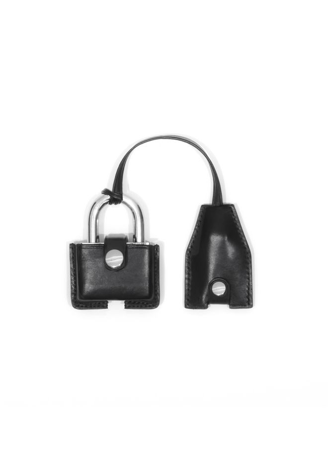 ALEXANDER WANG LEATHER PADLOCK 	OBJECTS Adult 12_n_f