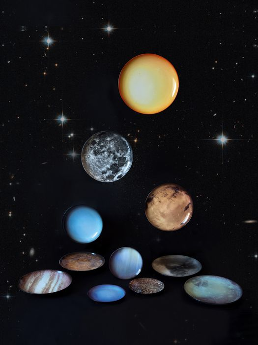 LIVING 10930 COSMIC DINER Plates E a