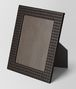 BOTTEGA VENETA ESPRESSO INTRECCIATO NAPPA LEATHER LARGE PHOTO FRAME Photo frame E fp