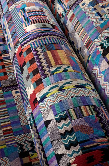 MISSONI HOME ORION КОВЁР   Пурпурный E - Передняя сторона