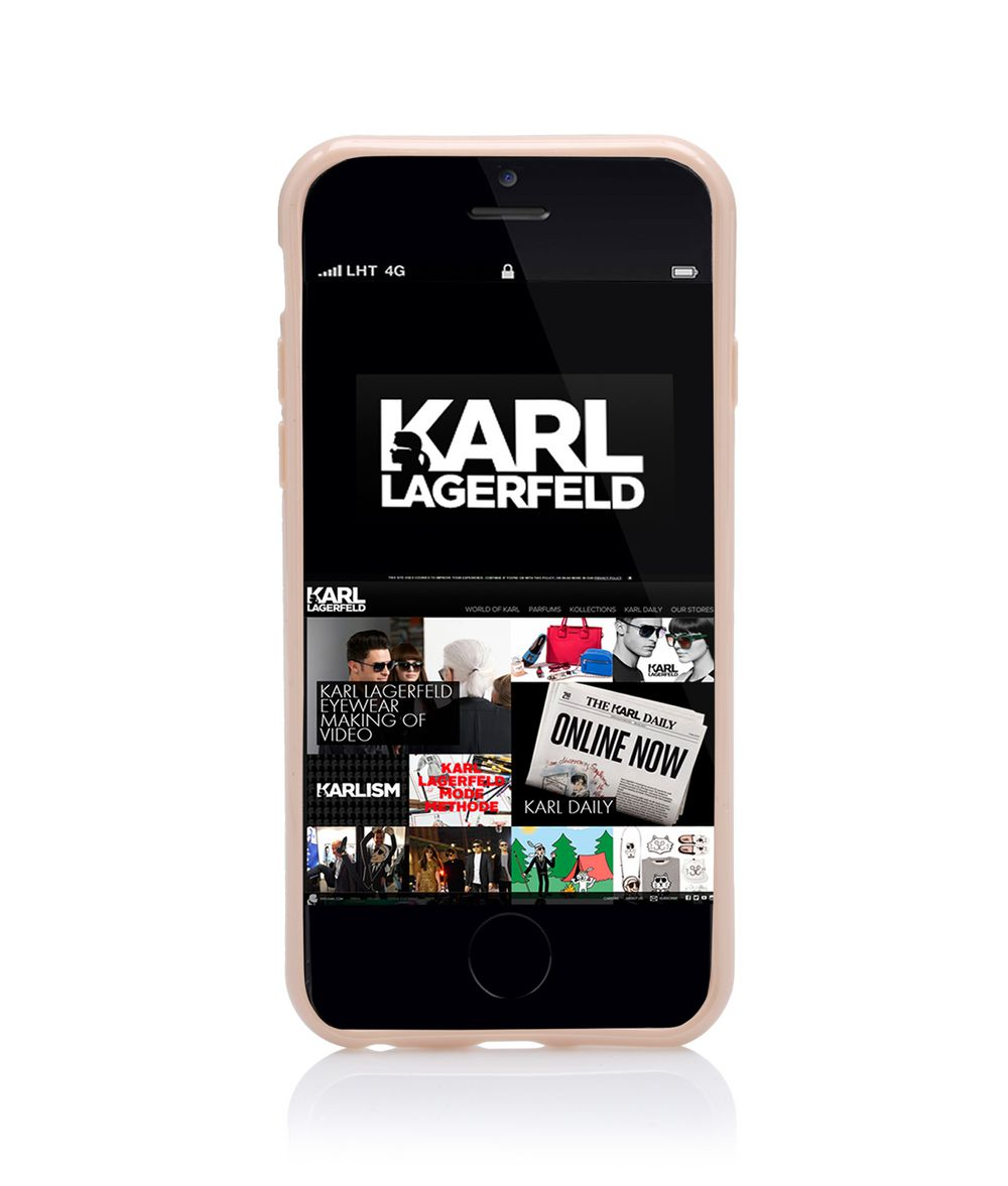 Cats All Over Iphone 6 Case | Karl Lagerfeld Collections |By