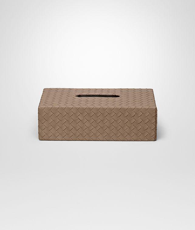 BOTTEGA VENETA AVANA INTRECCIATO NAPPA TISSUE BOX Desk accessory E fp
