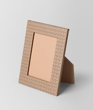 UNIFORM INTRECCIATO NAPPA LEATHER MEDIUM PHOTO FRAME