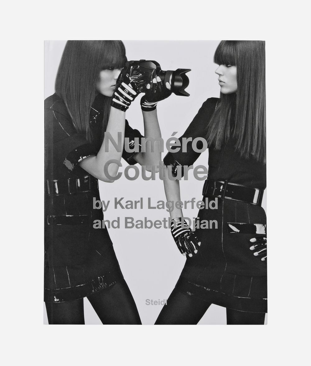 KARL LAGERFELD Numero Couture  Book Woman f
