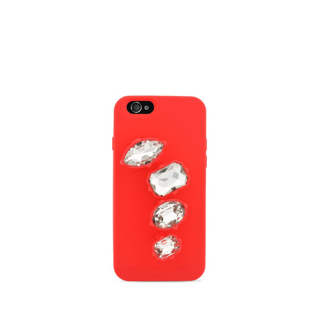 Red Rings iPhone 6 Cover - STELLA MCCARTNEY