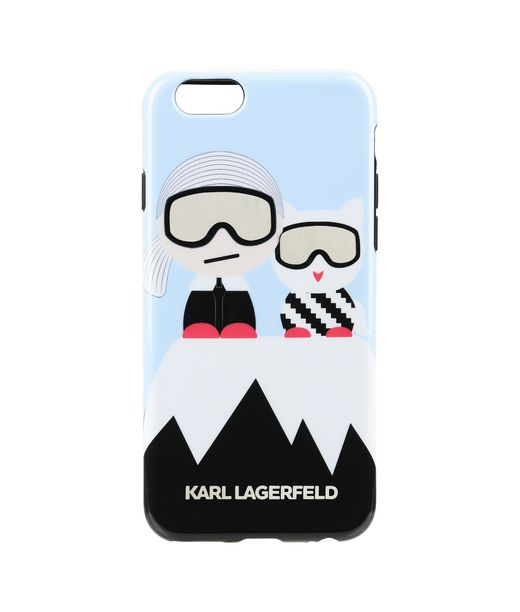 KARL LAGERFELD KARL AND CHOUPETTE SKI IPHONE 6 CASE 12_f