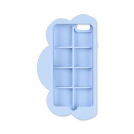 Blaues Etui für iPhone 6 in Wolkenform