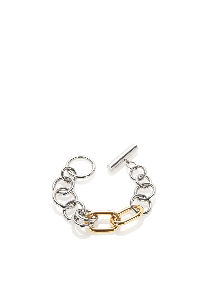 ALEXANDER WANG MIXED METAL TOGGLE BRACELET Jewelry Adult 12_n_r