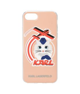 KARL LAGERFELD FLY WITH CHOUPETTE IPHONE 7 CASE
