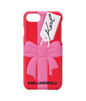 KARL LAGERFELD EMBOSSED GIFT IPHONE 7 CASE