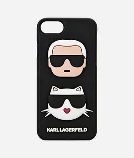 KARL LAGERFELD 3D KARL & CHOUPETTE IPHONE 7
