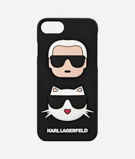 KARL LAGERFELD 3D KARL & CHOUPETTE IPHONE 7