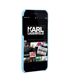 KARL LAGERFELD EMBOSSED MUSIC IPHONE 7 CASE