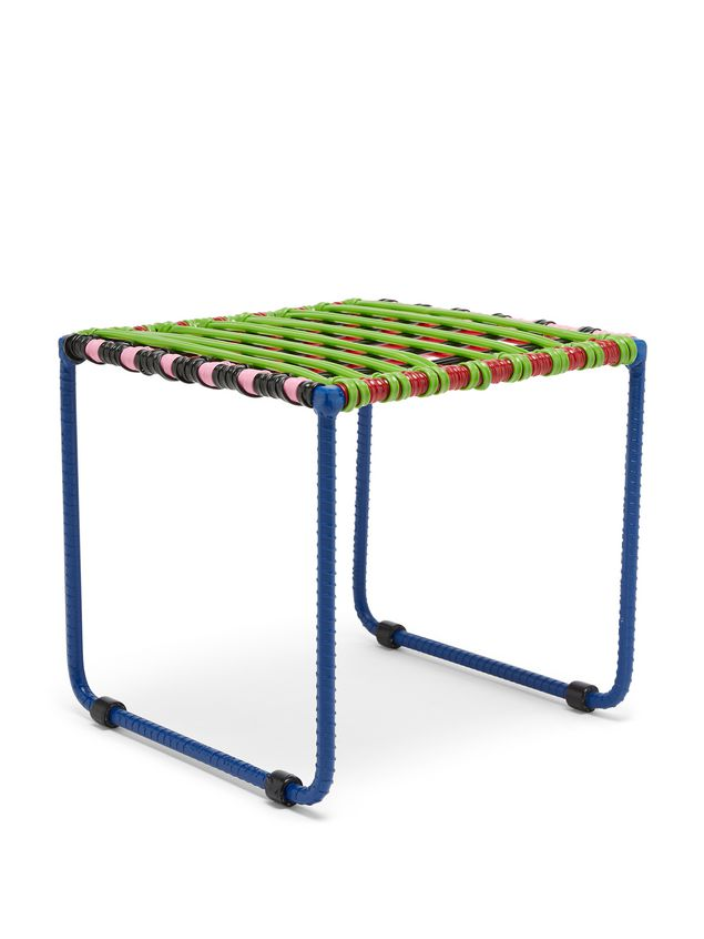 Marni MARNI MARKET green, red, black, pink, and pale blue table in metal  Man - 2