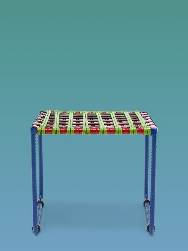 Marni MARNI MARKET green, red, black, pink, and pale blue table in metal  Man - 1