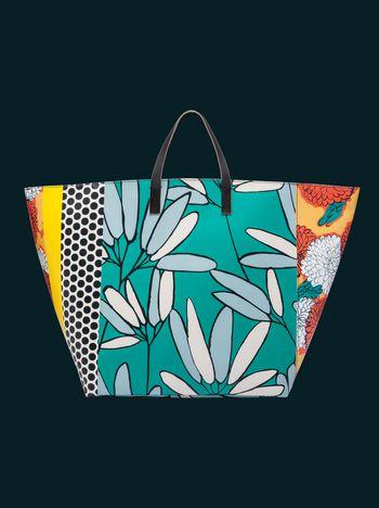 Marni Large floral patchwork vase holder Man