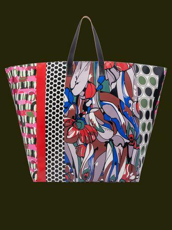 Marni Maxi patchwork vase holder Man