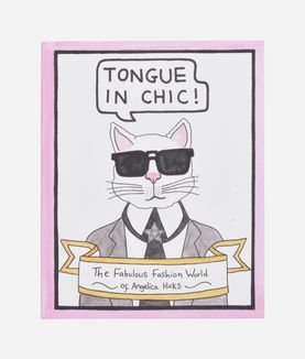 KARL LAGERFELD TONGUE IN CHIC