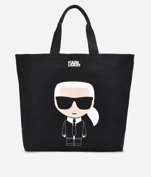 KARL LAGERFELD K/Ikonik Canvas Bag 12_f