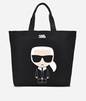 KARL LAGERFELD K/Ikonik Canvas Bag 8_f